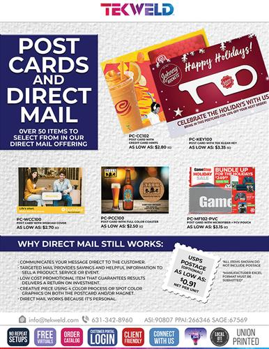 Take the Event to Your Client Through Direct Mail!