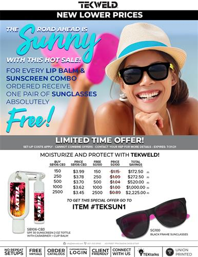 The Road Ahead Is Sunny With This Hot Sale!