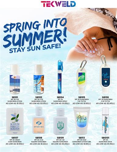 Spring Into Summer! Stay Sun Safe With These Sunscreens!