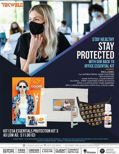 Stay Protect with our Back to Office Essential Kit