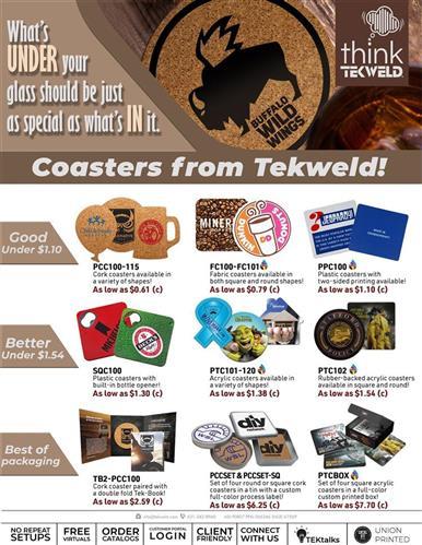 Coasters, Coasters, Coasters!