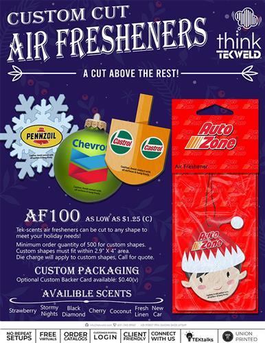 Custom Cut Air Fresheners