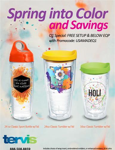 Spring Into Color & Savings!