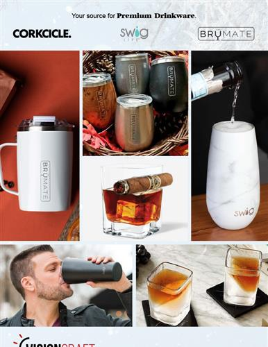 Premium Drinkware For The Holidays