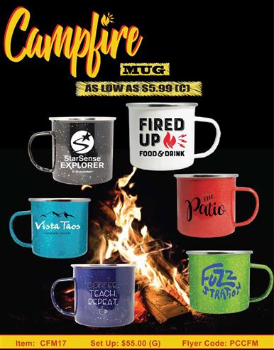 Campfire Mugs - In Stock Now