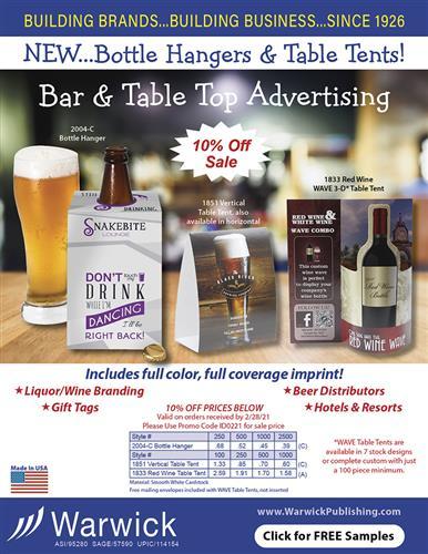 Bar & Table Top Advertising