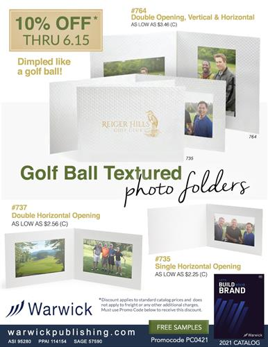 Get Ready for Golf with 10% Off from Warwick