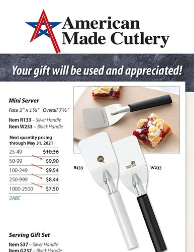 Continuity Opportunity | American Made Cutlery