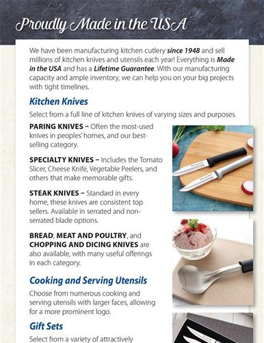 USA Kitchen Knives & So Much More!