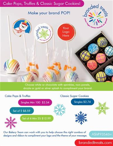 Holiday Gifts from Branded Treats!