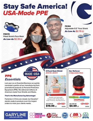 USA Made PPE Products Available Now! Even During Chinese New Year!