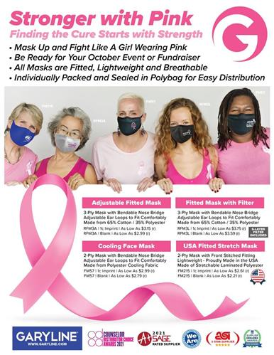Adjustable Masks Just In Time For Your Next Awareness Event