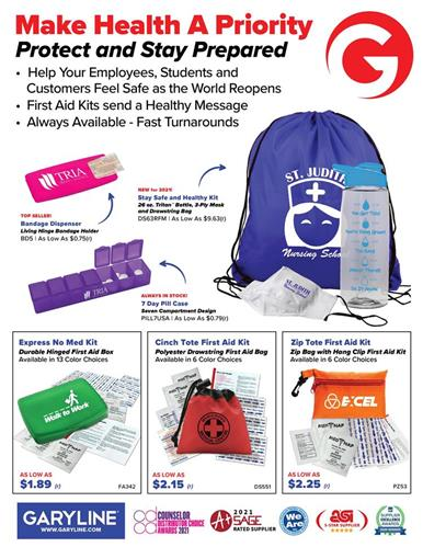 Make Health a Priority with First Aid Kits