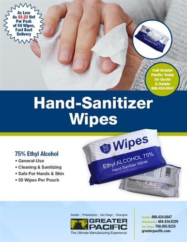 Hand-Sanitizer Wipes
