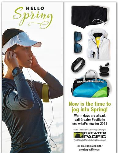 Hello Spring! See what's new at Greater Pacific.