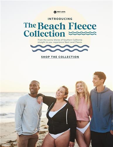 The Beach Fleece Collection is Here