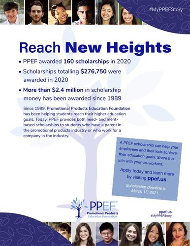 Reach New Heights With A PPEF Scholarship