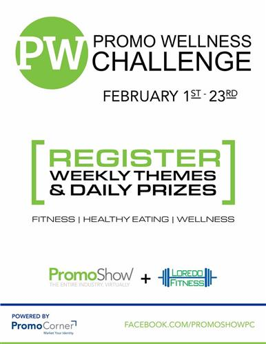 Register Today for the PromoShow Wellness Challenge - Daily Prizes