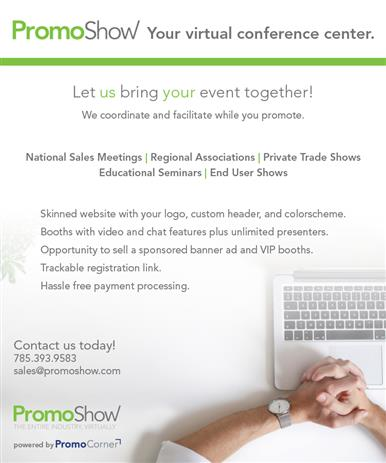 Let us bring YOUR event together, virtually!