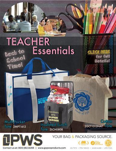 Promo Swag for Teachers