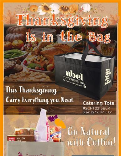 Thanksgiving is in the Bag
