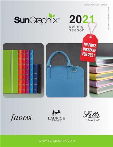 SunGraphix 2021 Catalog - No Price Increases for 2021