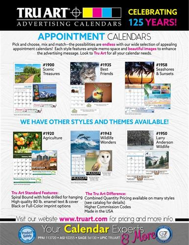 Check out these best-selling appointment calendars!